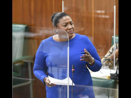 Government backbencher Kerensia Morrison was outraged at murderers getting up to 50 per cent reductions on their sentences.