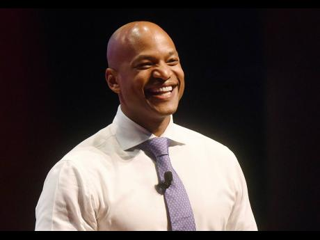 Author and CEO of the Robin Hood foundation, Wes Moore.