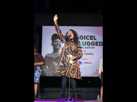 Rhoda Isabella sets hearts and spirits on fire as she belts out a medley of soul-stirring numbers and reminded audiences of the true significance of the Easter season.