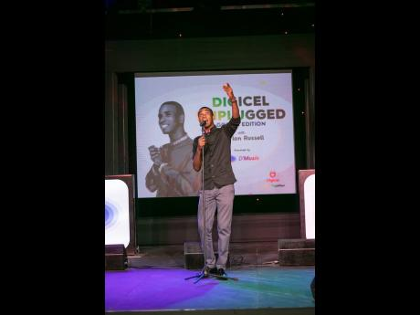 Upcoming gospel artiste, Sherlon Russell, and 2019 Digicel Rising Star, delivers a powerful, goosebump-inducing performance as the opening act at the Digicel Unplugged Good Friday concert.