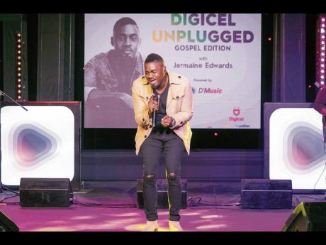 Veteran gospel hitmaker, Jermaine Edwards, blew fans away as he took to the Unplugged stage to deliver an unforgettable 40-minute set that set social media comments ablaze as viewers enjoyed the celebration from the safety of their homes.