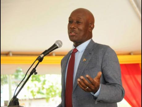 Trinidad and Tobago Prime Minister Dr Keith Rowley.