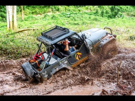 The 'Warhorse' loves plying in mud.