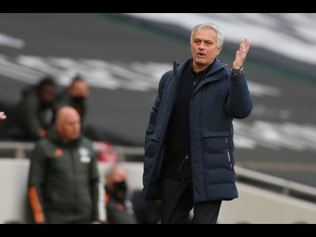 Tottenham manager Jose Mourinho.