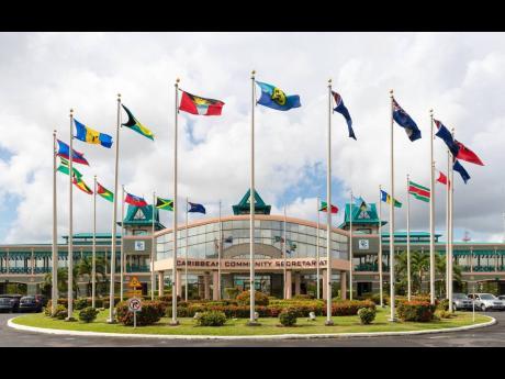 The CARICOM Secretariat in Georgetown, Guyana.