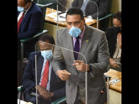 Prime Minister Andrew Holness said in Parliament that aspects of the country's popular culture and music are contributing to the high levels of violence in the country.