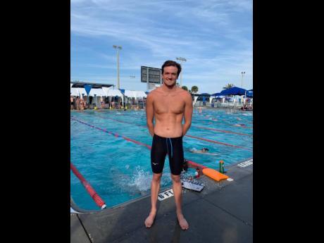 National swimmer Keanon Dols.