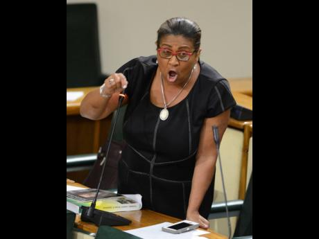 """House Speaker Marisa Dalrymple-Philibert: """"If it is true that a member of parliament has been identified as somebody in any sort of violent act against a female, it cannot be right and it cannot be condoned."""""""
