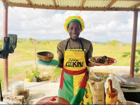 The former restaurant owner is preparing to launch a YouTube series called Jahdon – The 'Cook King'.
