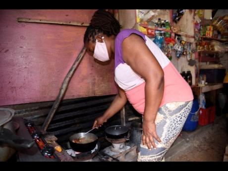 Maudrey-Ann Gilzene disclosed that COVID-19 has wiped out much of the profits of her small restaurant and shop.