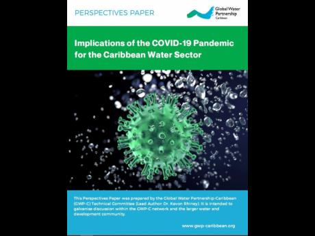A snap of the GWP-C perspective paper on COVID-19 and the regional water sector.