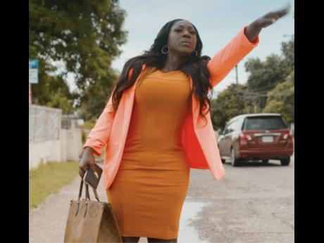 Miss Sophisticated, Spice rebuffs Konshens' advances in the 'Pay For It' video, letting the smooth 'ducta know that she has her own cash.