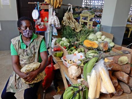 Audrey Lawson, vendor at the Port Maria Market.