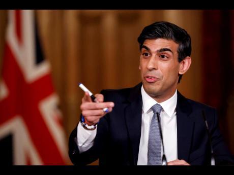 UK Chancellor of the Exchequer Rishi Sunak.