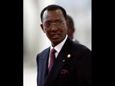 Chad's President Idriss Deby Itno.