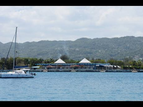 The Montego Bay Cruise Ship Port has seen reduced traffic since the industry collapsed after the coronavirus pandemic ground seaborne tourism to a halt.
