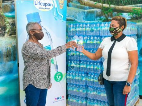Lifespan Spring Water Company Limited has donated 100 cases of its 5L formats to the recovery efforts in St Vincent and the Grenadines. The Caribbean country has faced increasing difficulties since the eruption of the La Soufriere volcano began on Friday,