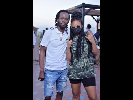 Reggae recording artiste Lila Iké joins her 'brother in music' Jesse Royal at JACANA in celebration of Cannabis Day.
