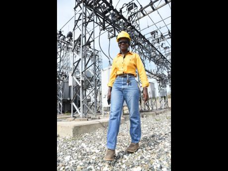 Nadrae Waugh, transmission and distribution engineer employed to the Jamaica Public Service Company.