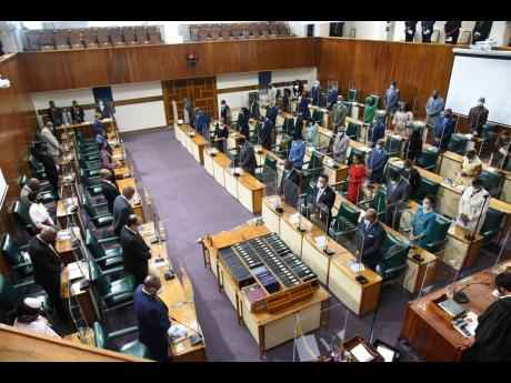 A file photo of the ceremonial opening of Parliament in February of this year. In 1992 Constitutional Commission, the Joint Select Committee on Constitutional Reform of 1995, the JLP election Manifesto of 2007 and the Impeachment Bill laid by then Prime M