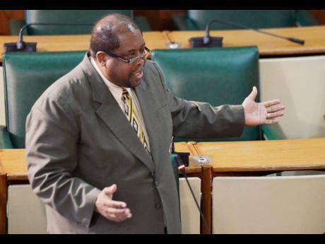 Senator Lambert Brown.