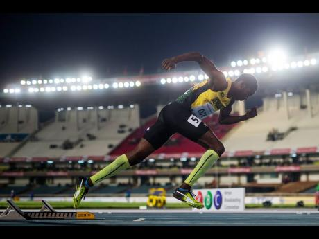 Jamaica's Anthony Cox in action at the World Athletics Under 18 Championships in Nairobi, Kenya on Sunday, July 11, 2017. Cox is one of the athletes who would have possibly been in action at the World Athletics Under 20 Championships at the same venue la