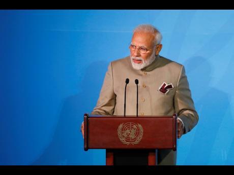 Prime Minister of India Narendra Modi.
