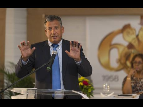 President & CEO of Jamaica Broilers Group Limited, Christopher Levy.