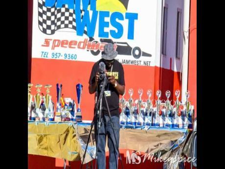 Kennedy at Jamwest Speedway.