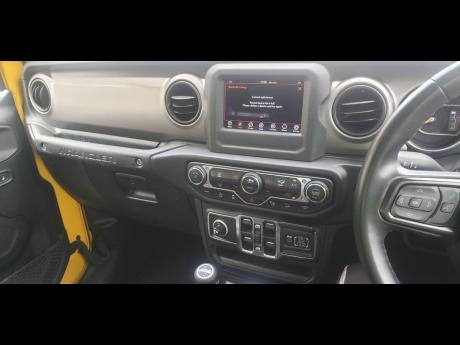 Jeep's Uconnect 4 has a 7-inch Touchscreen.