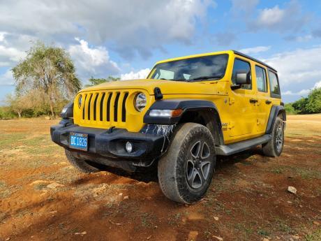 2021 Jeep Wrangler Unlimited Sport.