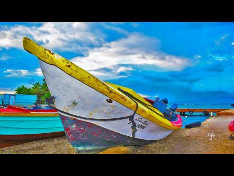 Fishing boat at Port Royal