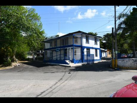 The newly-rehabilitated Adelphi Police Station in St James.
