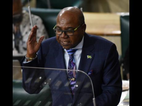 Edmund Bartlett, Jamaica's minister of tourism.