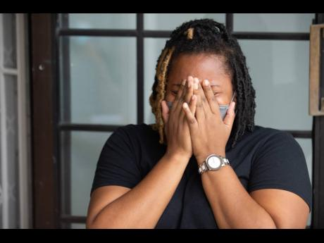 Veronique Pitter is overcome with emotion as she discusses the challenges of parenting an autistic child.