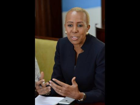 Minister of Education Fayval Williams.