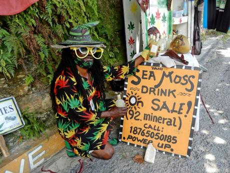 Yah I with his sea moss drink.