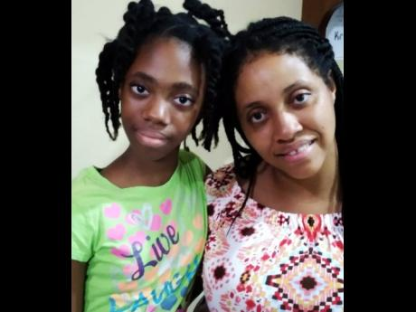 Eleven-year-old Alannah Morris and her mom, Abigail Morris.