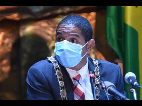 Kingston Mayor Delroy Williams.