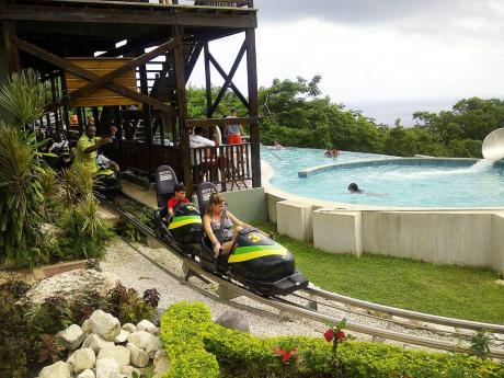 A section of the Mystic Mountain adventure park in Ocho Rios, St Ann.