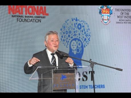 """This is my vision: Gary 'Butch' Hendrickson, chairman and CEO of National Baking Company and patron of the National Baking Company Foundation, declares """"profits fuel philanthropy!"""" As patron, Hendrickson handed over a cheque for $159.6 million at t"""