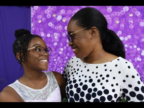 Jazmynne Walters, 12, relishes every opportunity to engage in swimming sessions with mom Tamieka Walters when they are on vacation.