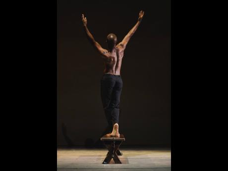 Marlon Simms performs in 'Sweet in the Morning' choreographed by Leni Wylliams.