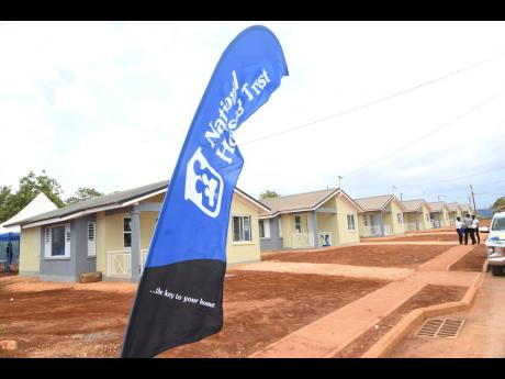 The National Housing Trust SilverSun Homes Limited handing over 200 detached two-bedroom units to beneficiaries at the handing over ceremony of Silver Sun Estate on Wednesday, July 1, 2020.