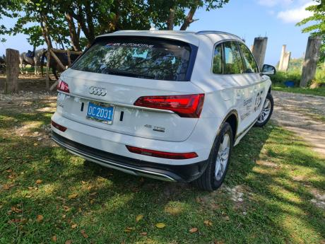 Audi claims the Q5 45 TFSI will accelerate from 0-100km/h in 6.3sec.