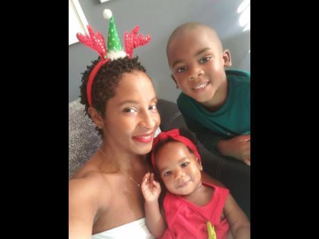 Doniesha Burke with children, Leo and Liv.