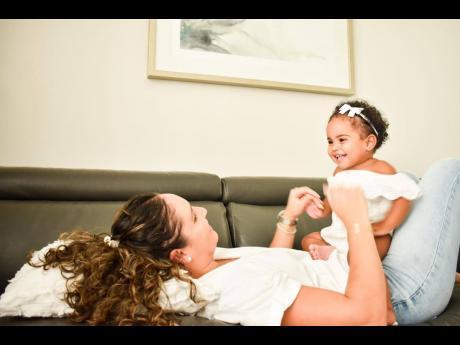 Amanda Vaz-Crooks with daughter, Chelsea.