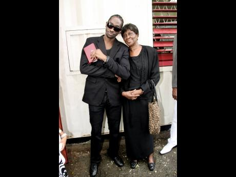 Bounty Killer (left) and his late mother, Ivy 'Miss Ivy' Williams.  The deejay's love for his mother is well-documented. He recently released a tribute song, 'Gone But Not Forgotten'.