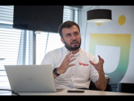Digicel CEO Jabbor Kayumov.