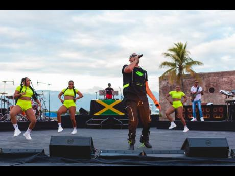 Sean Paul showcased the best of dancehall on Saturday during a virtual performance streamed live from Morgan's Harbour in Port Royal.